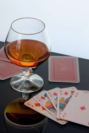 brandy and cards