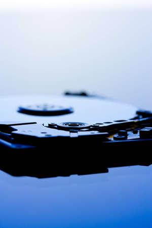 hard component: hard disk drive detail
