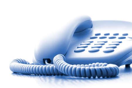 dialing: tel�fono de Oficina Foto de archivo