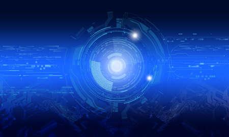 Concept de haute technologie Banque d'images - 84994702