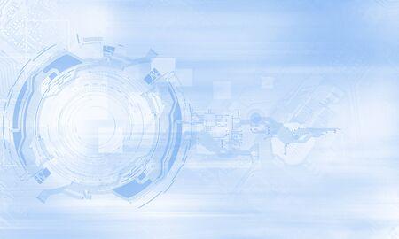 high technology concept