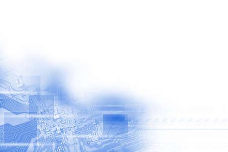 high technology concept Standard-Bild - 104614202