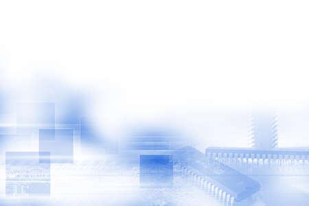 high technology concept Standard-Bild - 104614203