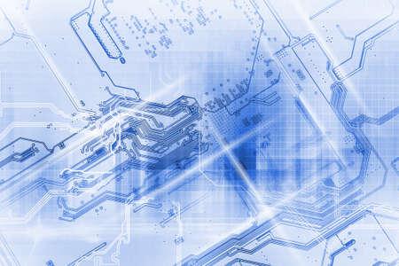 high technology concept Standard-Bild - 104614206