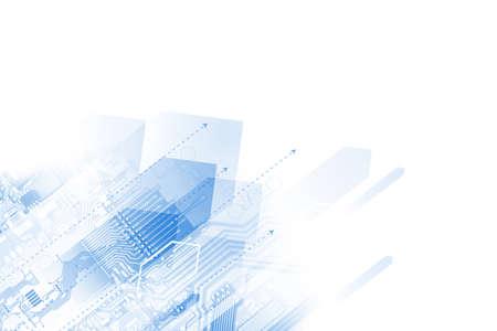 high technology concept Standard-Bild - 104614208