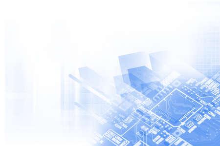 high technology concept Standard-Bild - 104614213