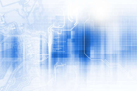 high technology concept Standard-Bild - 104614215