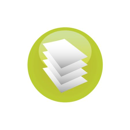 Multiple documents flat vector icon