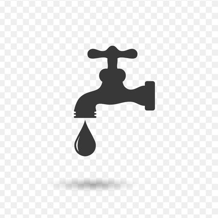 Water tap vector icon. Stock Vector illustration