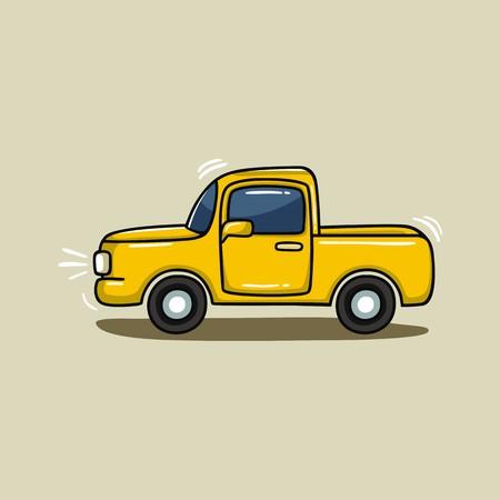 Truck illustratie vector Stockfoto - 64244352