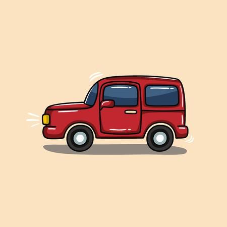 jeep: Jeep illustration vector Illustration