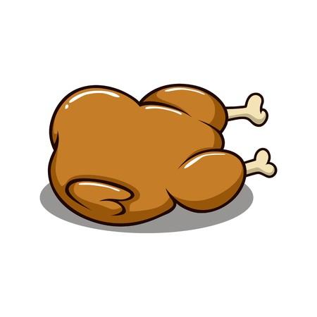 Chicken illustration vector