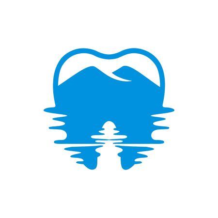Logo Dental vettore Archivio Fotografico - 67559275