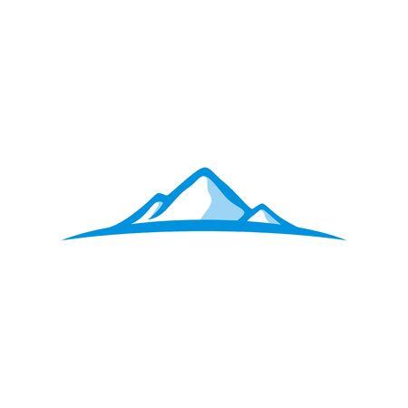 Mountain logo vector