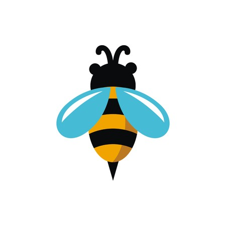Bee illustration vector
