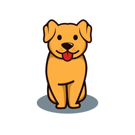 Dog illustration vector Illustration