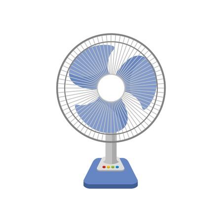 Electric fan vector illustration