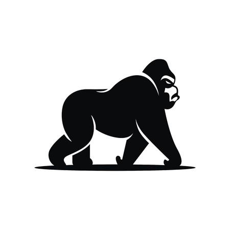 ゴリラのロゴのベクトル 写真素材 - 67665179
