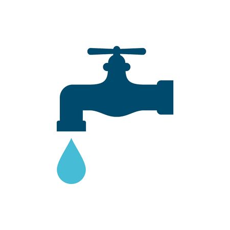 Tap water illustration vector Иллюстрация