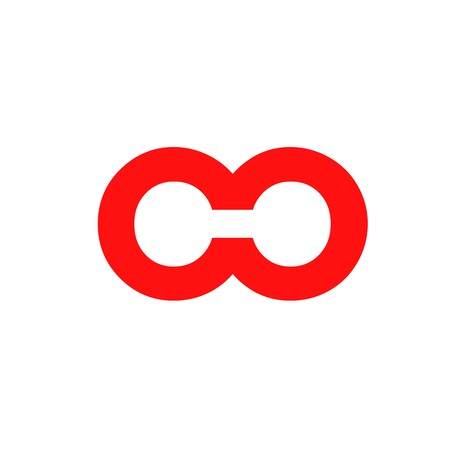OO initial logo Ilustração