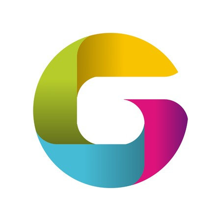 G initial logo on a plain background.