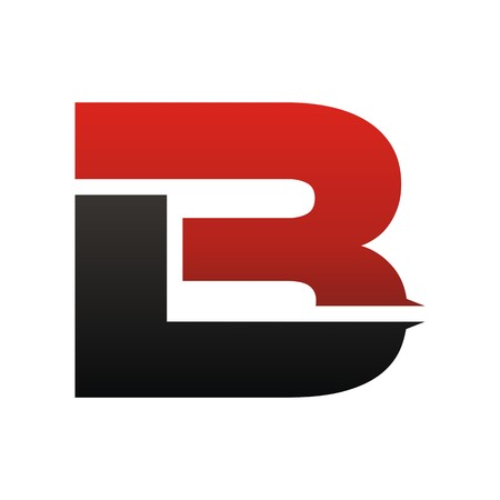 BR initial logo Vettoriali