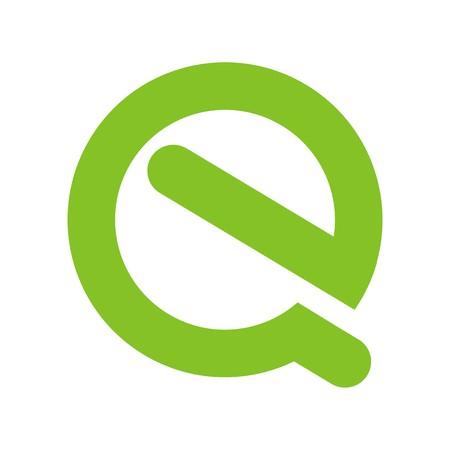 EQ initial icon.