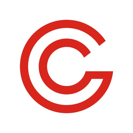 C initial letter icon