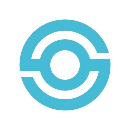 OS or SO emblem icon