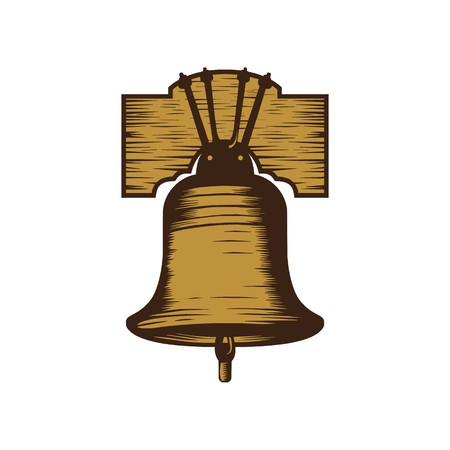 Bell illustration vector