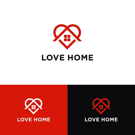 Liebe Home Logo Design