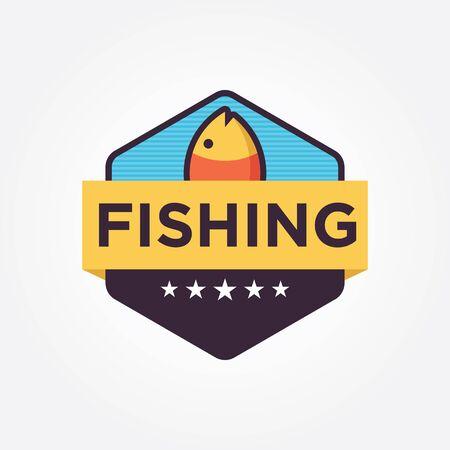 Fishing icon design
