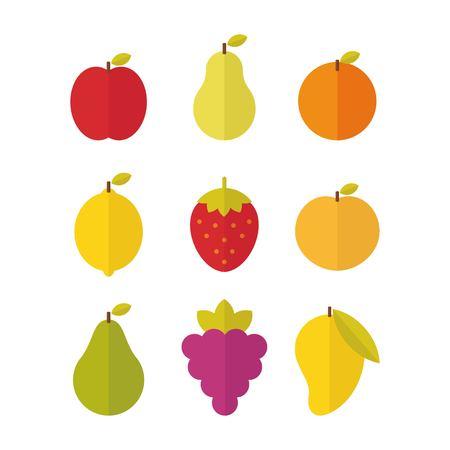 Fruits vector illustration  イラスト・ベクター素材