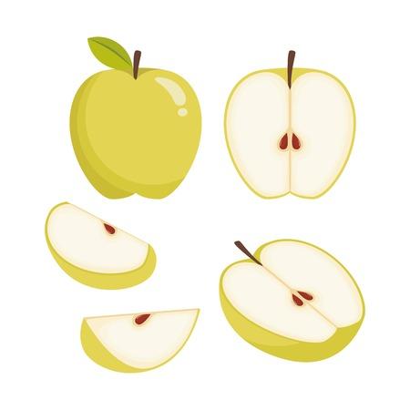 Apple vector illustration  イラスト・ベクター素材