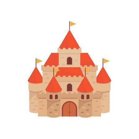 Castle vector illustration Ilustração