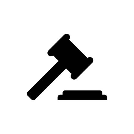 A judge's hammer vector illustration Illustration