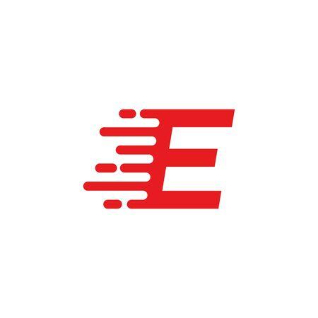 E letter fast logo