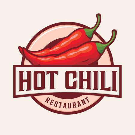 Hot chili logo design