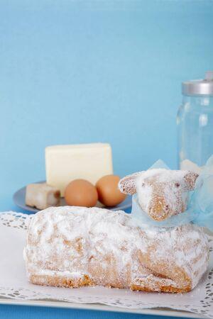 pasen schaap: Paaslam taart