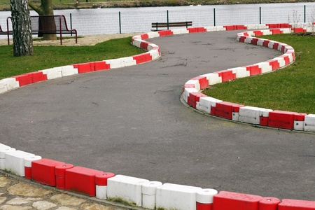 carting: Go carting track for children