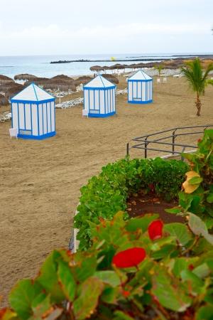 adeje: Playa del Duque - Costa Adeje, Tenerife Stock Photo