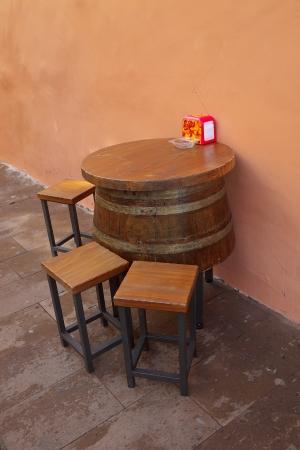 canarian: Canarian outdoor bar
