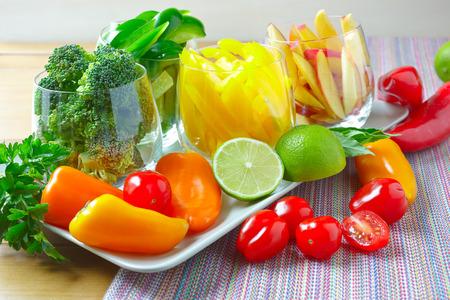alimentacion equilibrada: mezclar verduras