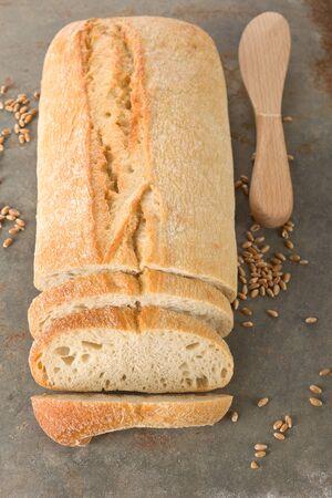 ciabatta: Italian ciabatta bread