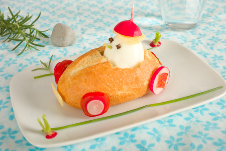 for kids: Bun car