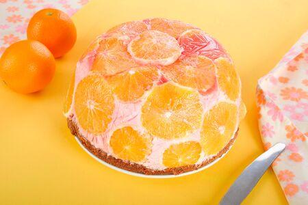 dome: Orange dome cake
