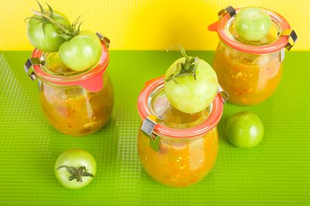 chutney: Green tomato chutney