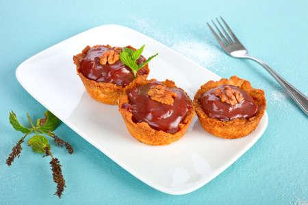 tarts: Chocolate tarts