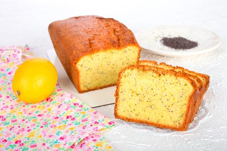 pound cake: Lemon-Poppy Pound Cake
