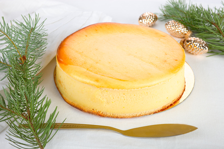 cottage cheese: Cheese cake